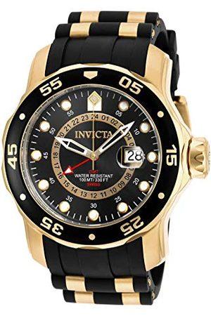 Invicta 6991 Pro Diver - męski zegarek na rękę z akwalungiem ze stali nierdzewnej kwarcowy czarna tarcza