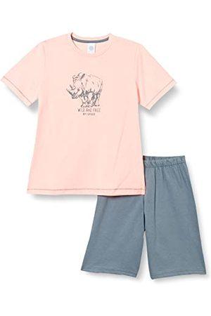 Sanetta Krótkie dziecięce piżamy, różowe