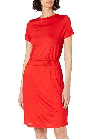 Mexx Damska sukienka z miękkiej wiskozy w stylu casual