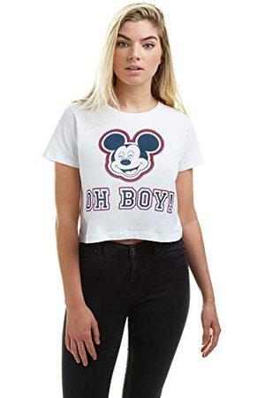 Disney Damska mysz Mickey - T-shirt 'Oh Boy Cutted
