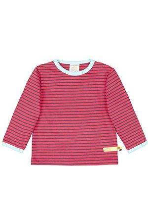 loud + proud Unisex dziecięca koszulka Ringel, z bawełny ekologicznej, z certyfikatem GOTS
