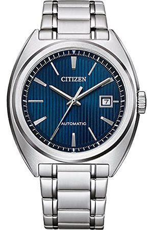 Citizen Męski analogowy automatyczny zegarek z bransoletką ze stali szlachetnej NJ0100-71E