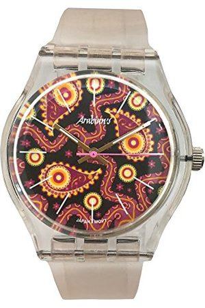 ARABIANS Męski analogowy zegarek kwarcowy z silikonowym paskiem HBA2239D