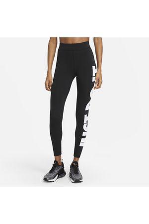 Nike Damskie legginsy z wysokim stanem Sportswear Essential - Czerń