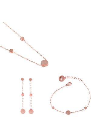 Vuch Kobieta Zestawy biżuterii - Pices of Dotty Rose Gold
