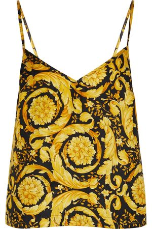 VERSACE Printed camisole