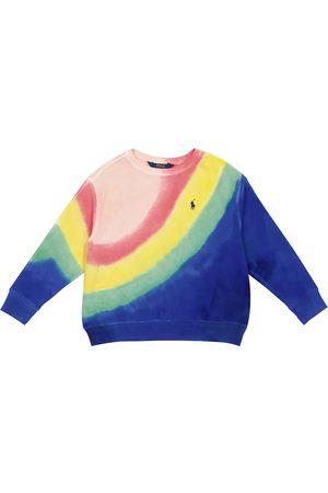 Polo Ralph Lauren Kids Tie-dye cotton jersey sweatshirt