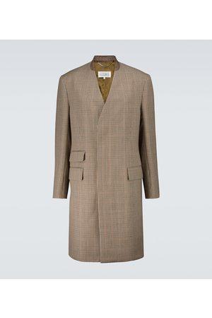 Maison Margiela Houndstooth wool coat
