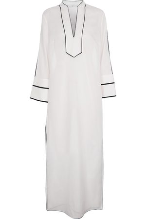Tory Burch Cotton voile maxi dress