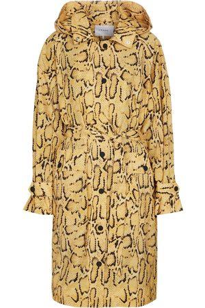 FRAME Kobieta Trencze - Python-print trench coat