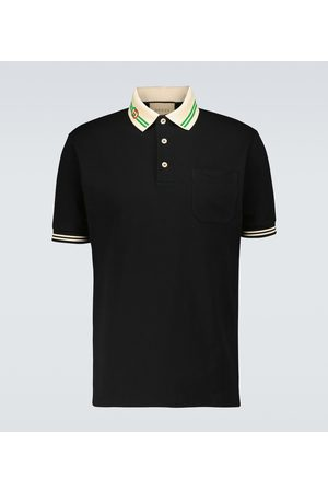 Gucci Short-sleeved polo shirt
