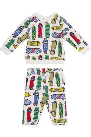 Stella McCartney Kids Baby printed sweatshirt and sweatpants set