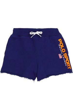 Polo Ralph Lauren Kids Logo cotton-blend jersey shorts