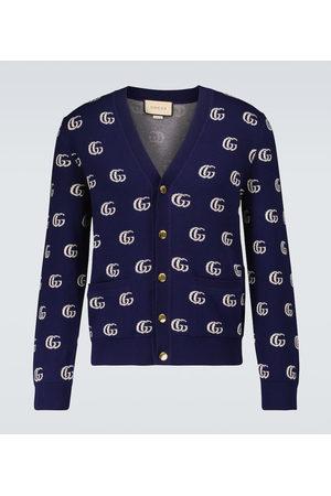 Gucci GG cotton jacquard cardigan