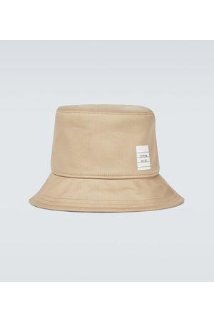 Thom Browne Cotton logo bucket hat