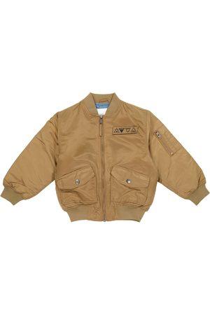 Molo Heath satin bomber jacket