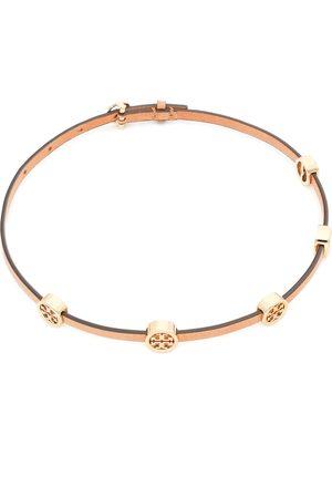 Tory Burch Bransoletka - Miller Double-Wrap Bracelet 82720 Tory Gold/Vachetta 244
