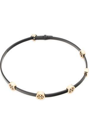 Tory Burch Bransoletka - Miller Double Wrap Bracelet 82720 Tory Gold/Black 720