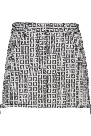 Givenchy Logo jacquard miniskirt