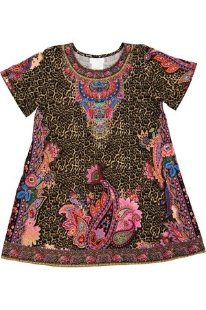 Camilla Printed T-shirt dress