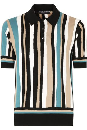Dolce & Gabbana Mężczyzna Koszulki polo - Brown