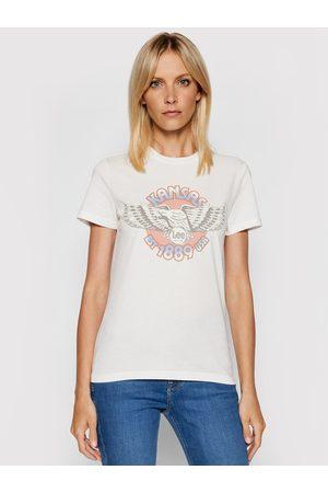 Lee T-Shirt Logo L44NEHNQ Slim Fit