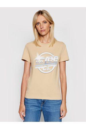 Lee T-Shirt Logo L44NEHNY Slim Fit