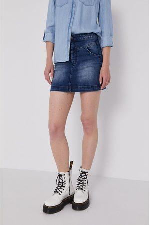 Lee Cooper Kobieta Spódnice jeansowe - Spódnica jeansowa