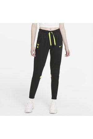 Nike Damskie spodnie piłkarskie z dzianiny Tottenham Hotspur Dri-FIT - Czerń