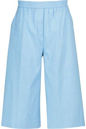 Joseph Tan linen and cotton Bermuda shorts