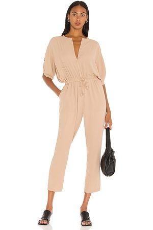ATM Anthony Thomas Melillo Kobieta Kombinezony - Georgette Jumpsuit in - Tan. Size L (also in XS, S, M).
