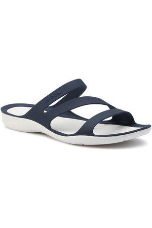 Crocs Klapki Swiftwater Sandal W 203998 Granatowy