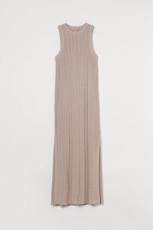H&M Długa sukienka z dzianiny