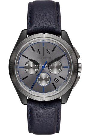 Armani Mężczyzna Zegarki - Zegarek - Giacomo AX2855 Navy/Grey