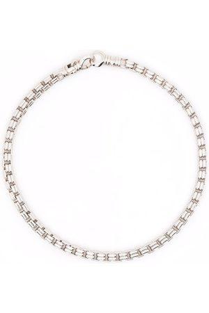 TOM WOOD Bransoletki - Venetian Double M sterling bracelet