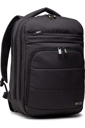 National Geographic Plecak - Backpack 2 Compartments N00710.06 Black