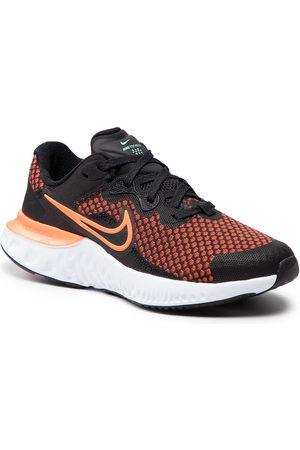 Nike Buty - Renew Run 2 (GS) CW3259 004 Black/Hyper Crimson/Chile Red