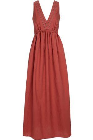 Brunello Cucinelli Exclusive to Mytheresa – Cotton-blend maxi dress