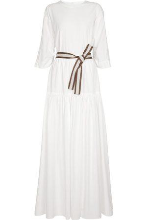 Brunello Cucinelli Exclusive to Mytheresa – Cotton poplin maxi dress