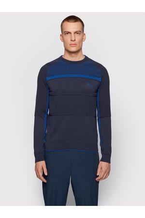 HUGO BOSS Sweter Remi 50446983 Granatowy Regular Fit