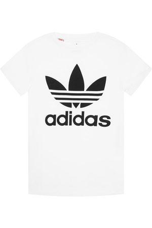 adidas Z krótkim rękawem - T-Shirt Trefoil DV2904 Regular Fit