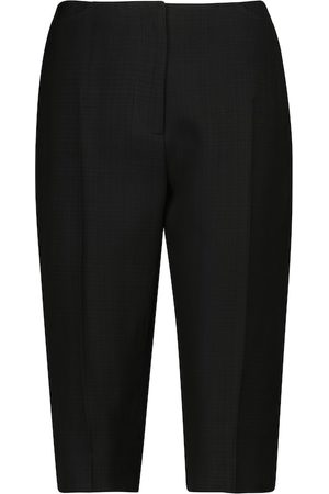 Totême Kobieta Bermudy - Mid-rise Bermuda shorts