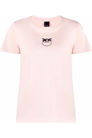 Pinko Logo crew-neck T-shirt