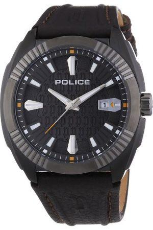 Police Męski zegarek na rękę XL PATHFINDER analogowy kwarcowy skóra P13596JSBU-61