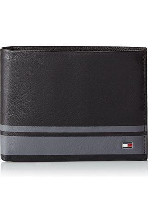 Tommy Hilfiger Męski portfel skórzany Signature Stripe Cc, 2 x 10 x 13 cm, - Midnight - 2x10x13 cm (B x H x T)