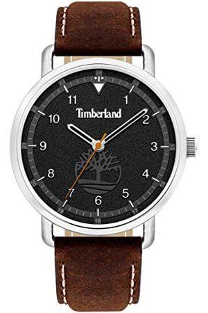 Timberland Męski analogowy zegarek kwarcowy ze skórzaną skórą cielęcą TBL15939JS.02AS