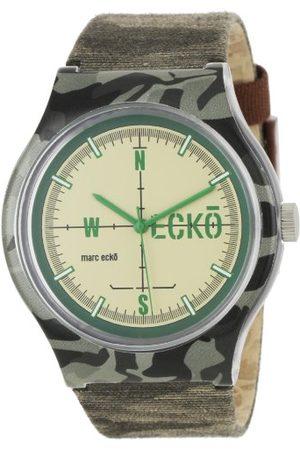 Marc Ecko Męski data klasyczny zegarek kwarcowy z nylonową bransoletką E06509M1