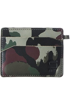 G-Star Męski Zallik Cc Holder portfel, wielokolorowy (Tench/Aroch Ao), 10 x 8 x 0,3 cm