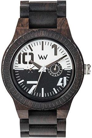 WeWood WW51002 męski analogowy kwarcowy zegarek na rękę z drewnianą bransoletką