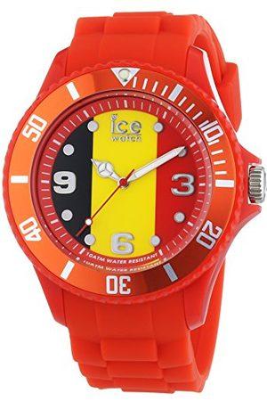 Ice-Watch Ice World Belgium - zegarek męski z silikonowym paskiem Pasek Large Rot/Mehrfarbig